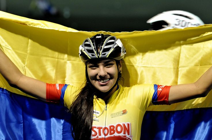 Daniela Mendoza, campeona mundial de patinaje en los 10.000 metros combinados juveniles, el 11 de septiembre en China.