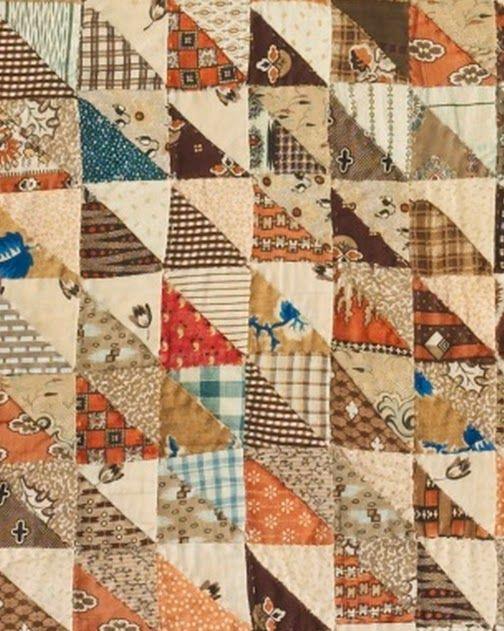 Civil War Quilts: 1862 Crib Quilt: Questions                                                                                                                                                     More