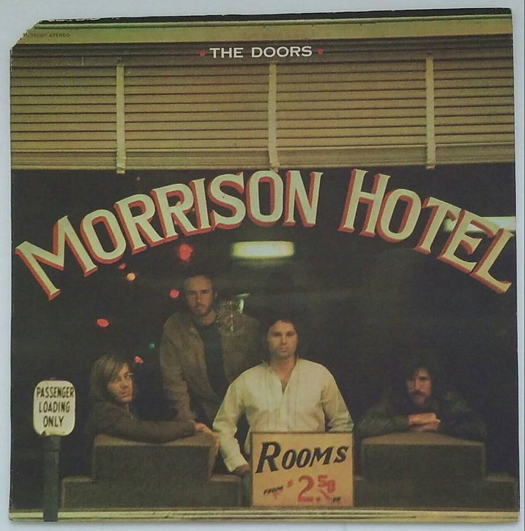 THE DOORS - Morrison Hotel, vintage 1970 stereo long-playing vinyl record album, EKS-75007 by BuyVintageRecords on Etsy