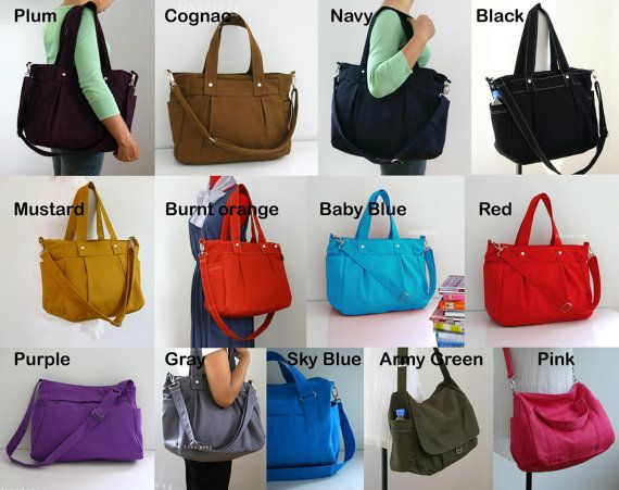 SALE  Custom Diaper bag / Messenger / Tote bag / by ickadybag