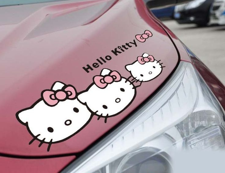 Promotion Hot Sales Hello Kitty Car Stickers The Whole Body Car - Promotional custom vinyl stickers for cars