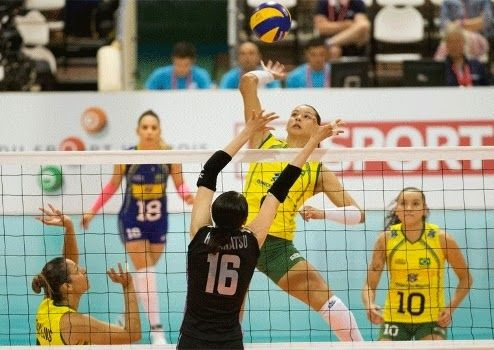 Blog Esportivo do Suiço: Seleção brasileira bate Japão e termina no quinto lugar em Montreux