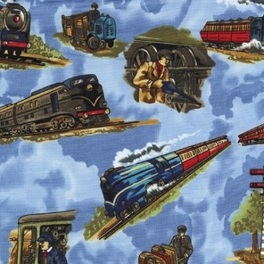 Trains, Trains and More Trains- This would be so cool as a Poster/kids wallpaper..