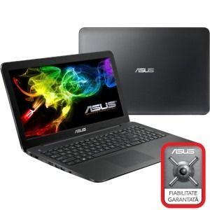 """ASUS 15.6"""" X554LA, HD, Procesor Intel® Core™ i3-5010U 2.1GHz Broadwell, 4GB, 500GB, GMA HD 5500, Black"""
