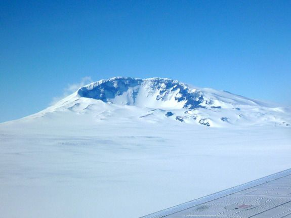 Active volcano discovered under Antarctic ice sheet