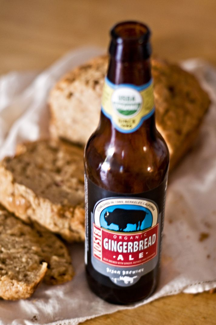 Gingerbread Ale Beer Bread