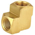 Female Elbow, Brass Pipe Fittings, Brass Compression Fittings