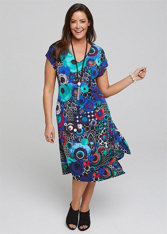 Lush Dress #takingshape #plussize #curvy
