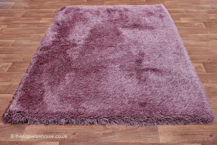 Cascade Heather Rug, a hand-woven shaggy rug characterized by a sumptuously soft & thick polyester pile http://www.therugswarehouse.co.uk/purple-rugs/cascade-heather-rug.html #rugs #shaggyrugs #interiors
