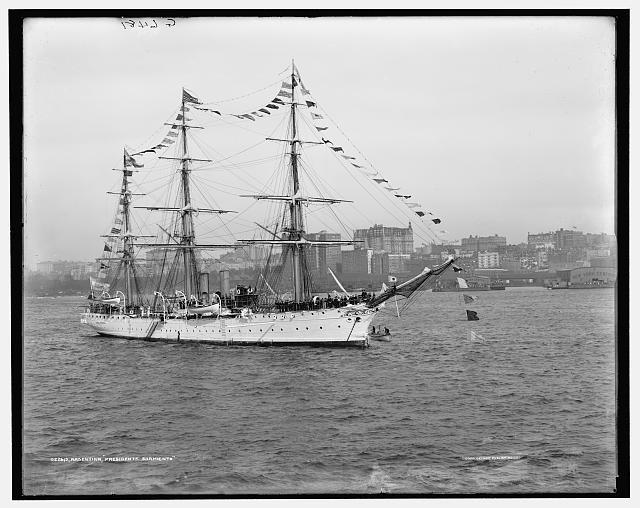 Fragata Presidente Sarmiento (1909)