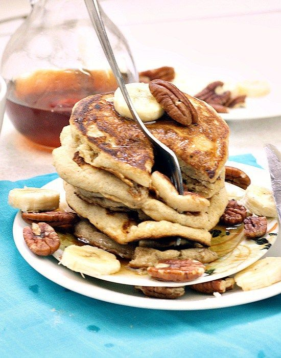 Pancakes single serving. 110 calories for one Whole stack!