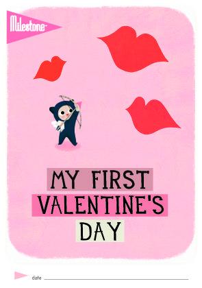 Milestone™ Valentine Free Printable available!