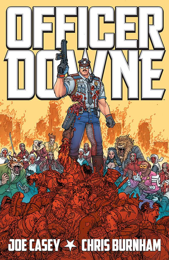 Image Comics: Officer Downe Can't Be Kept Down - That Hashtag Show