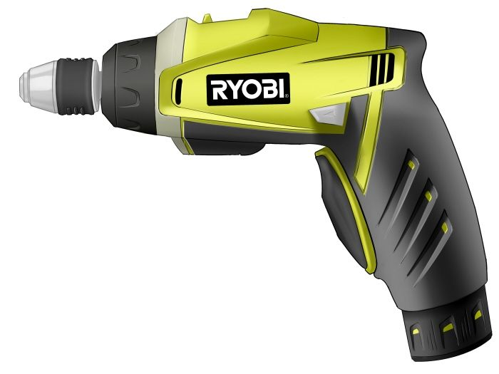 Ryobi Drill Concepts by Kyle Schumaker at Coroflot.com