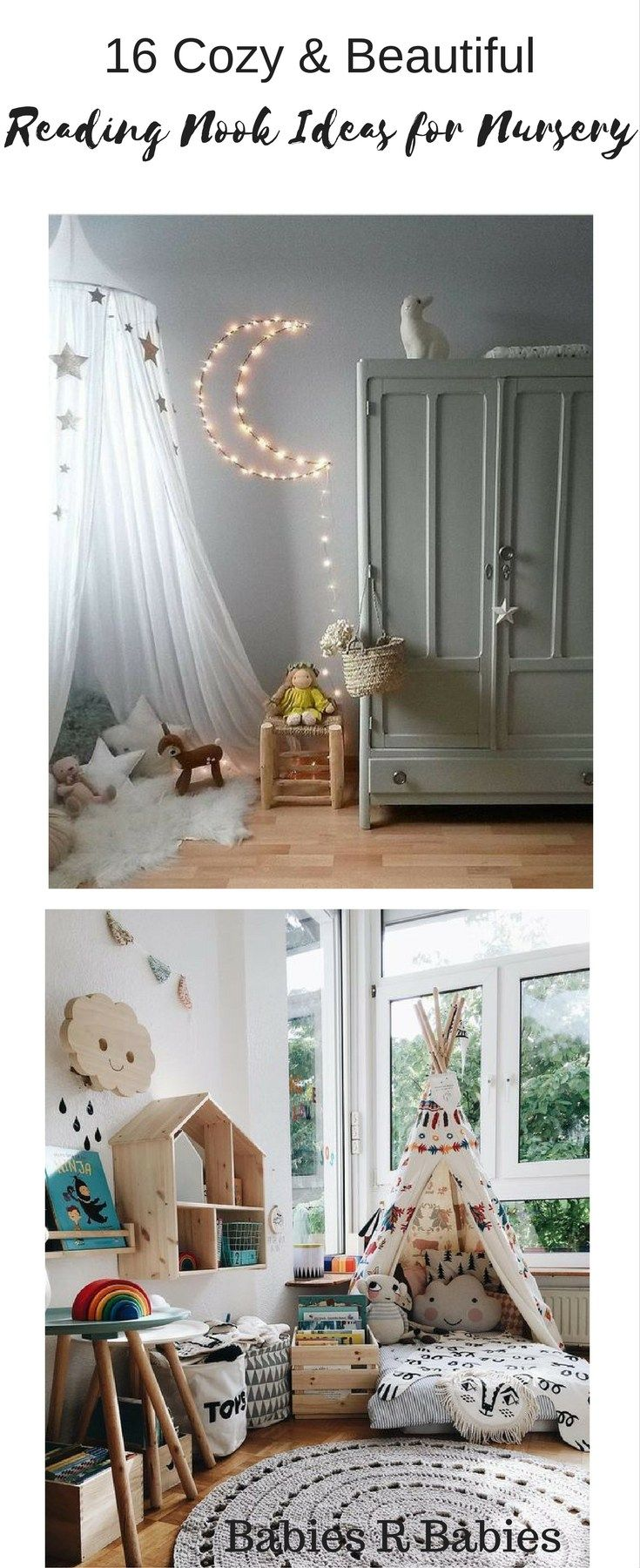 Top tips for making a baby s nursery special - 16 Cozy And Beautiful Nursery Reading Nook Ideas