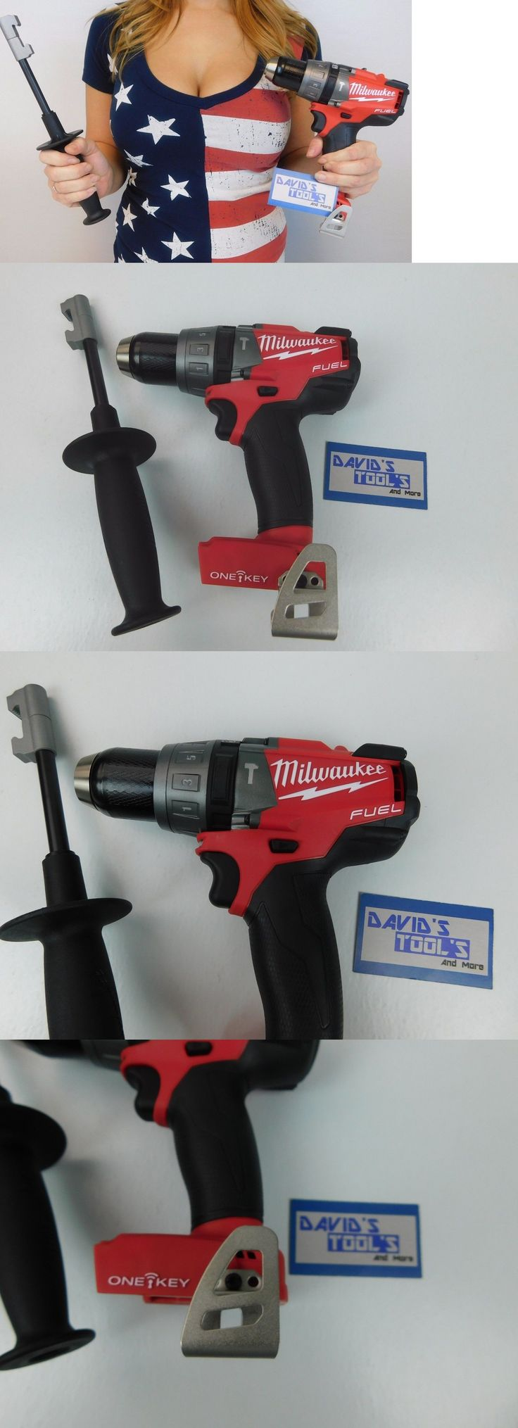 tools: New Milwaukee 2706-20 M18 Fuel One-Key 18V Brushless 1/2 Cordless Hammer Drill -> BUY IT NOW ONLY: $135.55 on eBay!