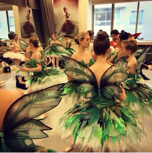Costumes from the Australian Ballet!