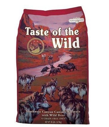 Taste Of The Wild Wild Boar Blend Dry Dog Food 5 Lbs Dry Dog