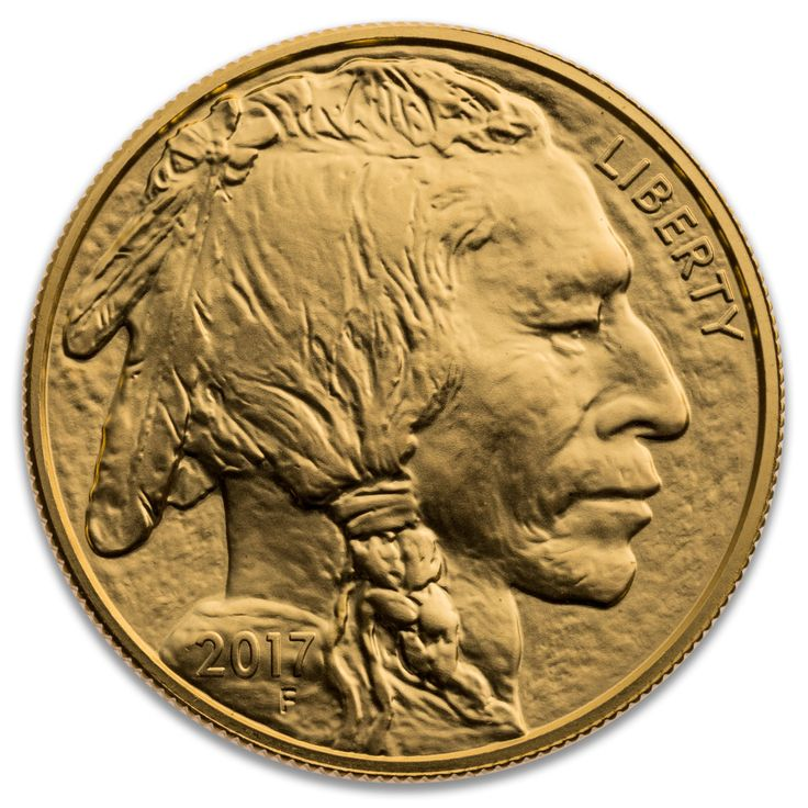 2017 UNITED STATES GOLD BUFFALO 1 OZ .9999