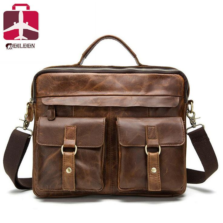 Best Price 2016 Men Messenger Bags Genuine Leather Briefcase Crazy Horse Luxury Casual Business Office For Handbag Jprfao8f Black