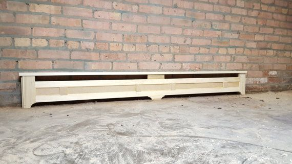 Custom Hydronic Baseboard Heater Cover  Made to Order by DozerCO                                                                                                                                                                                 More