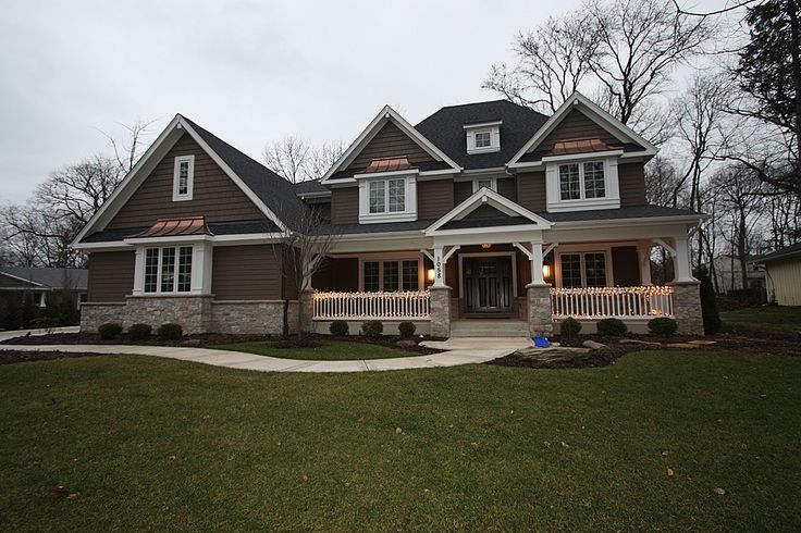 918 best dream homes images on pinterest for Craftsman stone