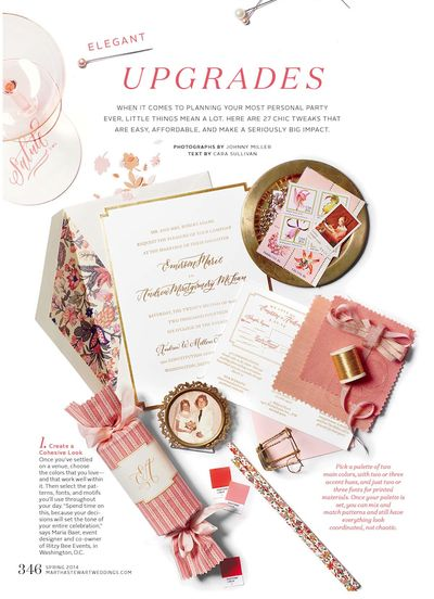 SIMPLESONG + Ritzy Bee Events for Martha Stewart Weddings: Screens Shots, Simplesong Design, Bees Events, 25 Easy, Marthastewartw Com, Receptions Ideas, Colors Swatch, Design Editorial, Martha Stewart Wedding