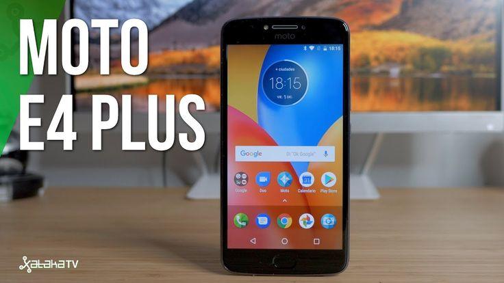 Moto E4 Plus review en español: una batería que destaca