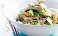 N'hésitez pas à concocter cette recette de wok au porc. En 20 minutes de préparation et 10 minutes de cuisson, c'est prêt !