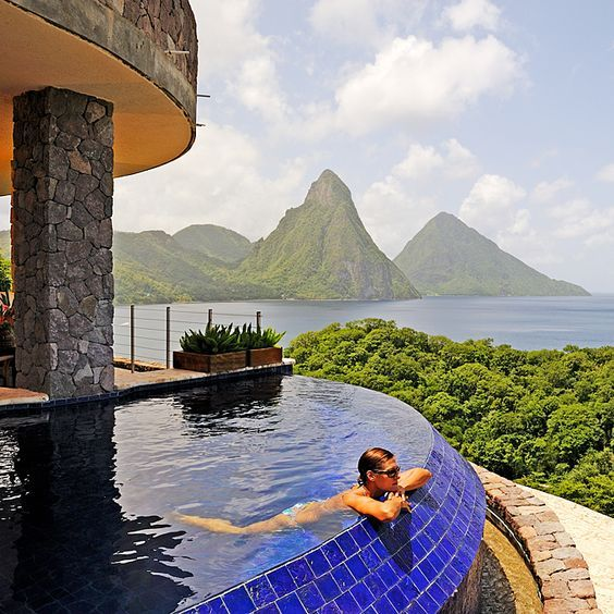 18 best sandals grande st lucian images on pinterest for Best caribbean honeymoon resorts