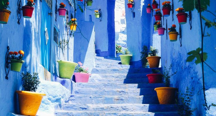 Chefchaouen! Morocco's Blue Pearl! We can't wait to visit this beauty! Visit our blog for more!!!!