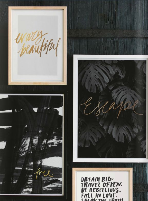 The Minimalist Store  / Brand new prints from 'Modern Romantic'