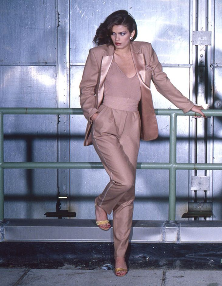 Gia Carangi by Chris Von Wangenheim for Harper's Bazaar Italia, June 1978.