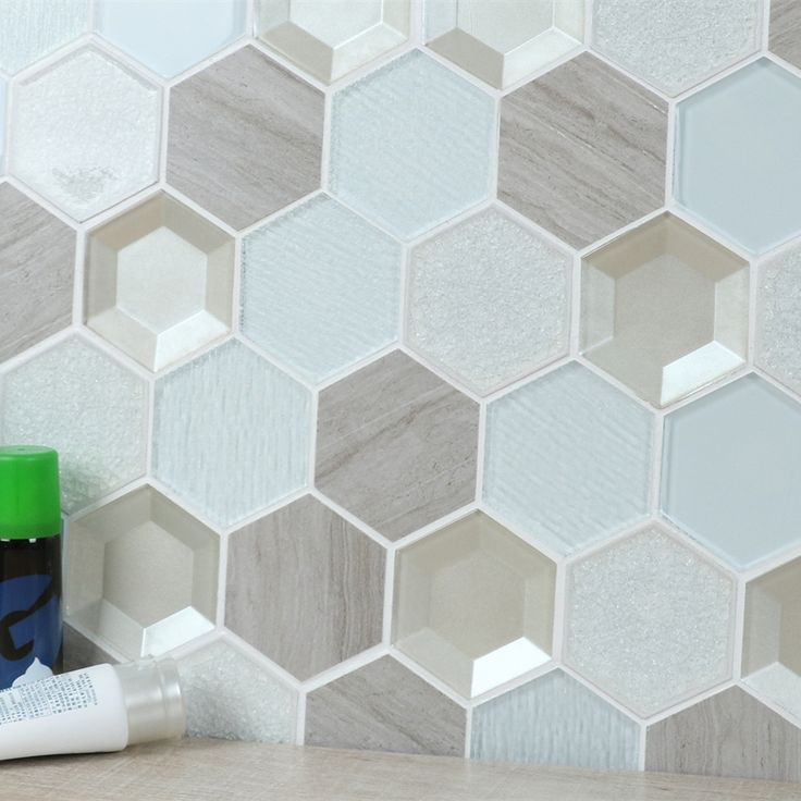 Newest design 3'' hex cracked porcelain mix glass 3d bathroom tile cheap prices, US $ 58.58 - 93.73 / Square Meter, Guangdong, China (Mainland), MM Mosaic, HZH041OYG.Source from Foshan ANT Buying Service Co., Limited on Alibaba.com.