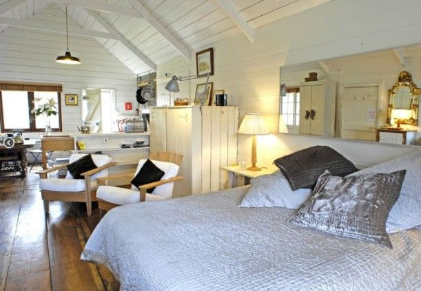 Cottage ideas :Beach Hut Cornwall