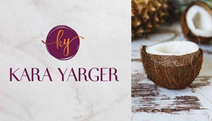 Branding for Kara Yarger a holistic health mentor who helps women overcome IBS, based in Nashville. [more portfolio images on the blog] Created by @FreshSageSA. . . #branding #Logo #Moodboard #Pattern #socialtemplates #brandingdesign #businesscards #identitysystem