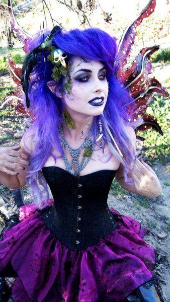 dream costume for dark fairy