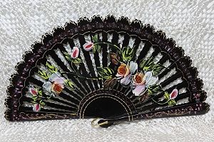 Collector hand fans from Spain, Hand Painted - Abanicos