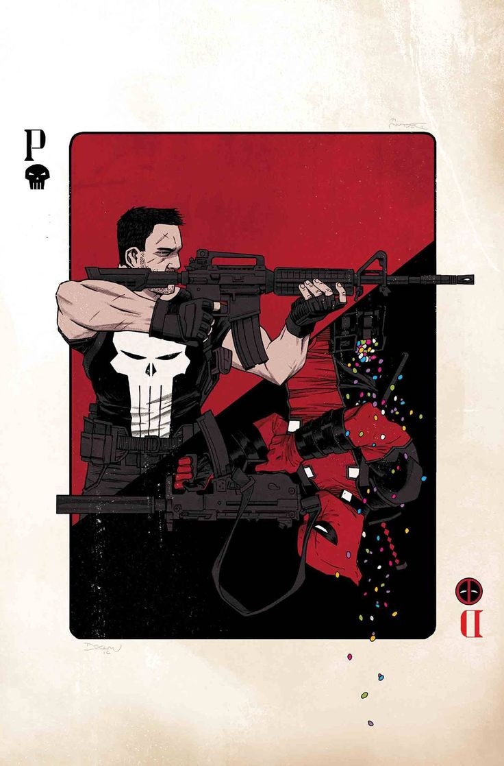 DEADPOOL VS PUNISHER #1 (OF 5)