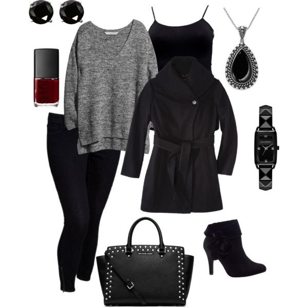 Winter 9- plus size outfit