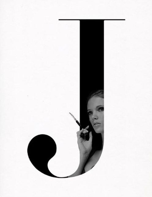 Typographic Fashion  Typographic exploration for with fashion Photography by Kalle Gustafsson.