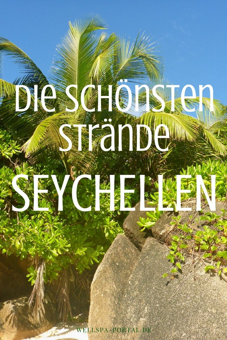 Traumurlaub im Insel Paradies der Seychellen. Wo gibt es die schönsten Strände? Weißer Sand Strand, sanfte Wellen und Türkis blaues Meer. Eine Reise in den Indischen Ozean zu Riesenschildkröten, Genuss und Sonne. Traumhafte Natur für den schönsten Urlaub.