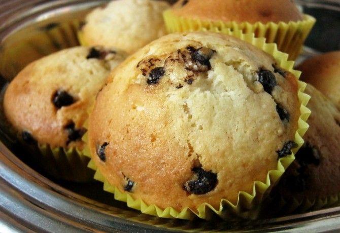 Csokidarabos muffin