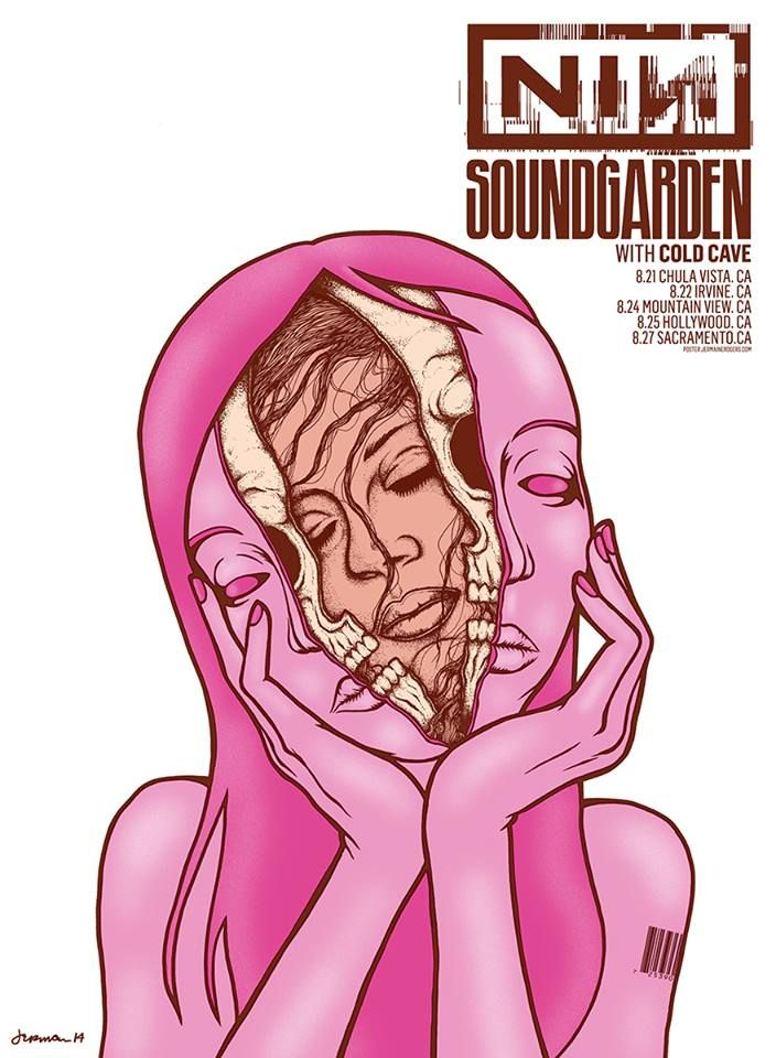 rogers NIN  Soundgarden California 2014
