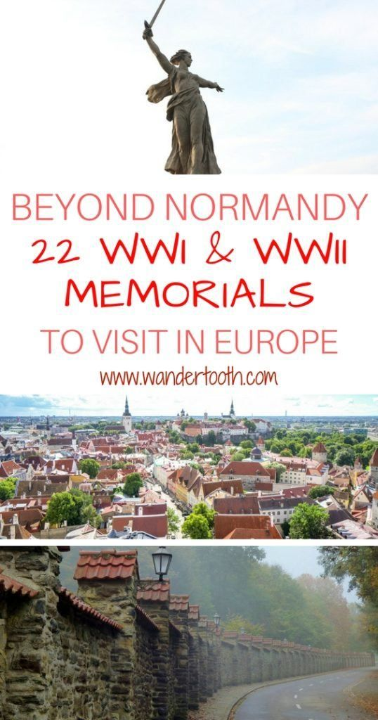 Remembrance Sites in Europe: 11 Travel Bloggers Share Their Fav WWI & WWII Sites in Europe & Beyond. Includes 22 Locations to Visit as a Remembrance Tourist.