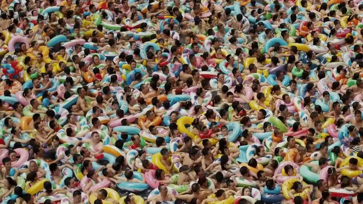 A wave pool in China