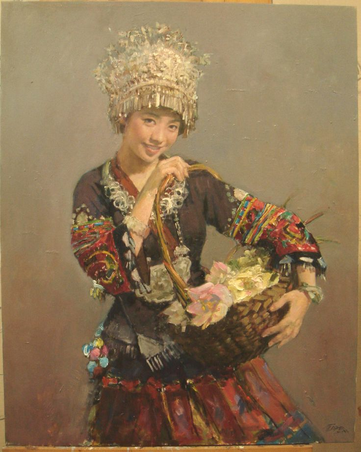 49 best miao images on Pinterest | China adoption, Ethnic ... Miao People Art