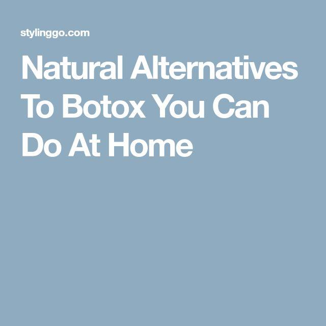 Natural Alternatives To Botox You Can Do At Home