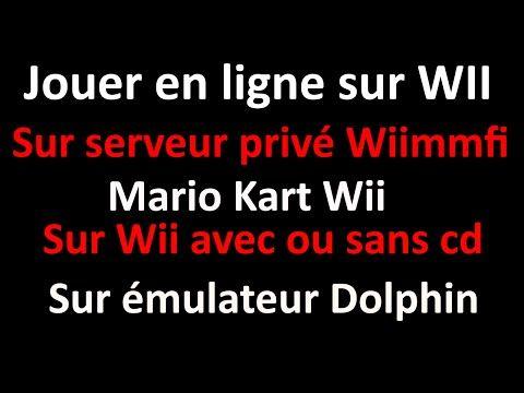 TUTO Jouer à Mario Kart Wii En réseau ! Depuis Wii où dolphin sur le serveur privé Wiimmfi !  #depuis #dolphin #mario