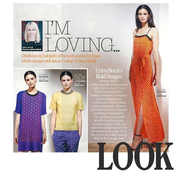 "Uzma Bozai - ""Uzma Bozai has created the holiday wardrobe of dreams"" Ali Hall, Editor of LOOK magazine."